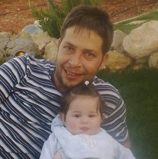 rushdi's brother aboud with his daughter