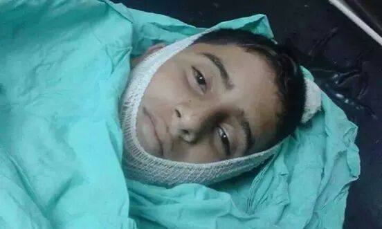 baha samir badr. 13 years old. shot dead in his village beit lekya. shot straight to the heart while he returned from the olive harvest with his family.